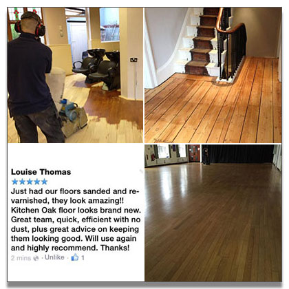 Floor sanding in the Midlands