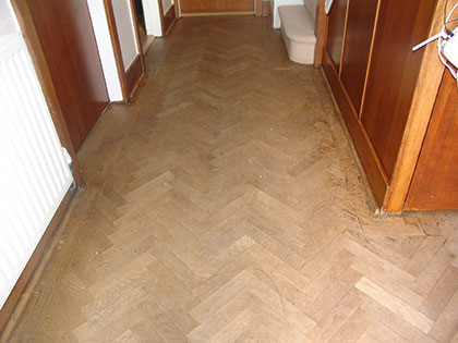 Wood floor renovation in Milton Keynes